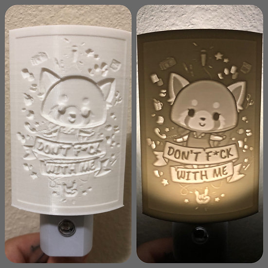 Custom Lithophane Nightlight
