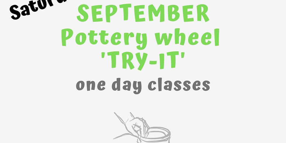 """Pottery """"Try It' Wheel Class"""