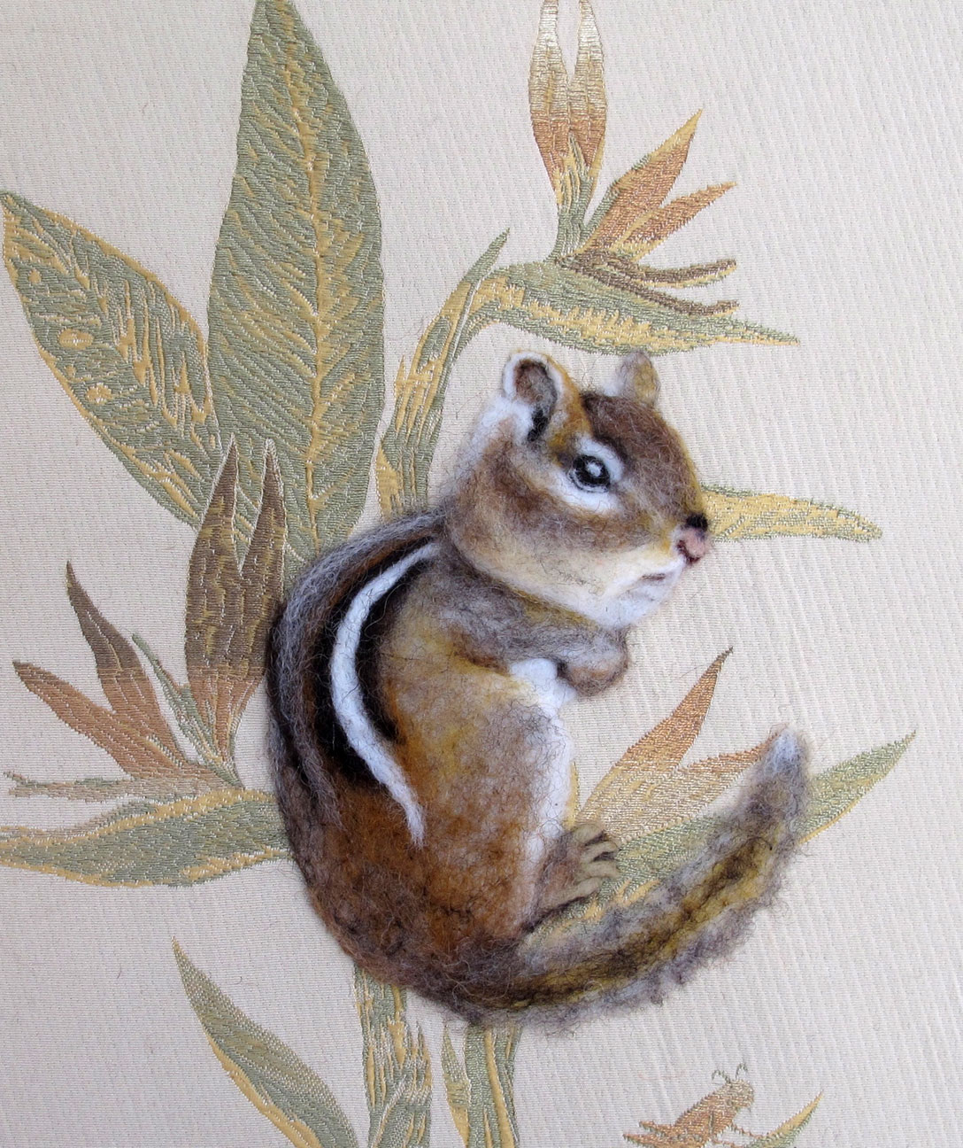 "HARVEST CHIPMUNK 11"" x 14"""