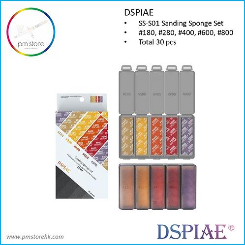 DSPIAE Sanding Sponge #180- #800 30 pcs