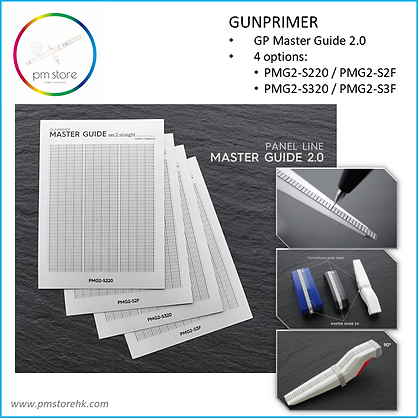 GUNPRIMER Panel Master Guide 2 (3mm F)
