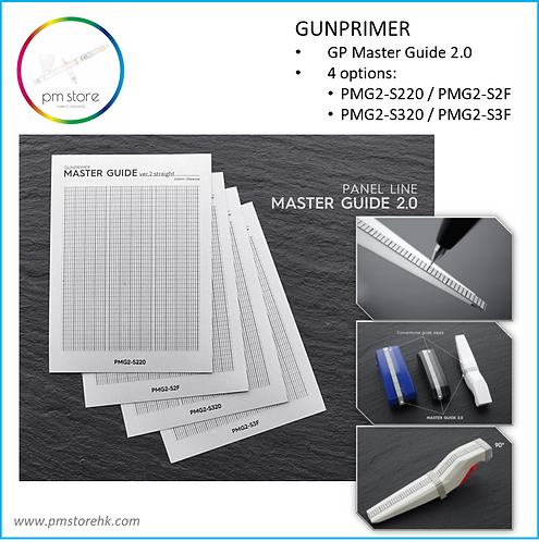GUNPRIMER Panel Master Guide 2 (2mm F)