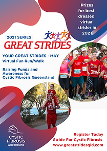 Poster of Virtual Great Strides 2021 Ser