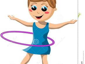 H is for Hula Hoop