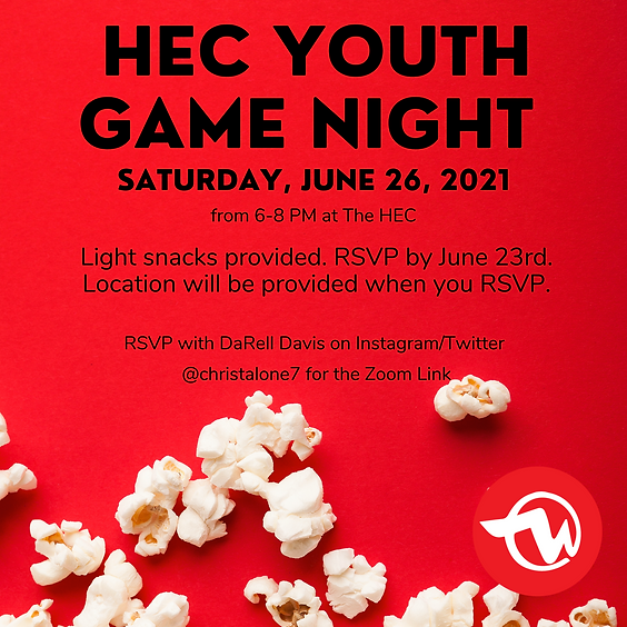 Youth Game Night