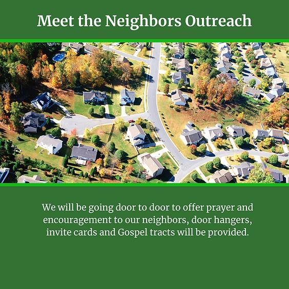Meet the Neighbors Outreach