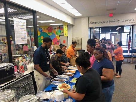 Breakfast for Staff of Ross Sterling Middle School