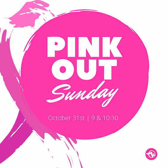 Pink Out Sunday/16th Church Anniversary