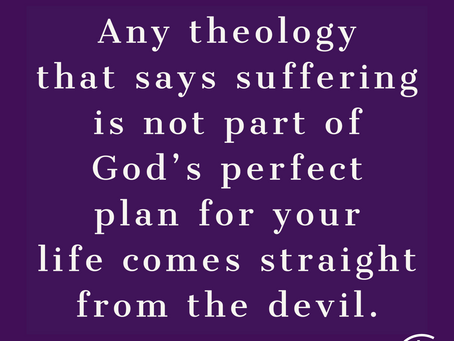 Suffering is a part of the plan: Meditation on Genesis 25:22