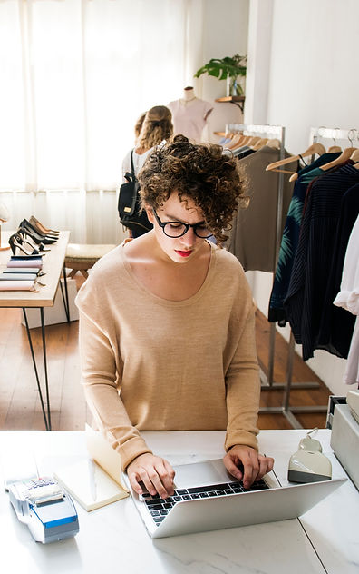 female-business-owner-is-using-the-lapto