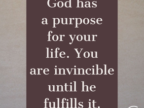 God has a purpose for my life, and he means to fulfill it: Meditation on Psalm 57:2