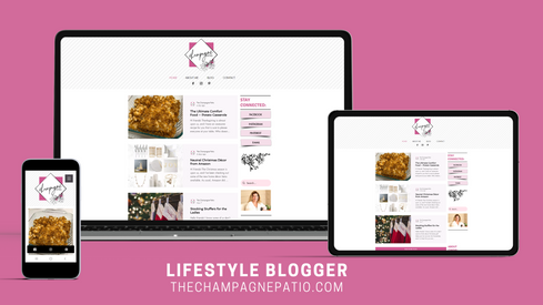 The Champagne Patio Blogger