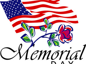 Today is Memorial Day