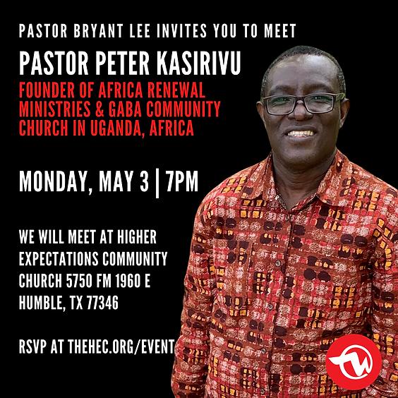 Meet Pastor Peter Kasirivu