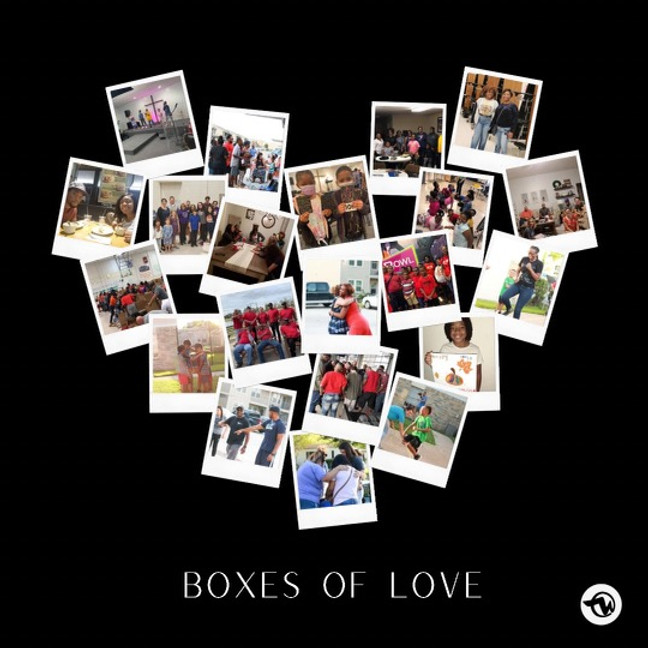 Boxes of Love Thanksgiving Outreach