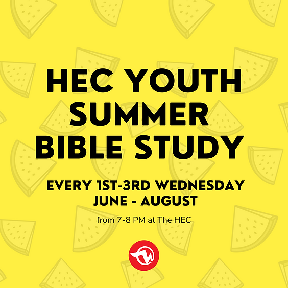 Youth Summer Bible Study