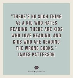 Reading Quote - Patterson