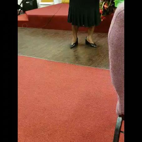 Treva Jones at Faith Tabernacle Baptist Church