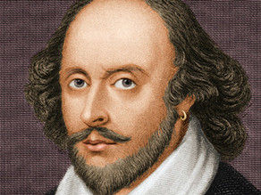 Hark! Who goes there? Why it's William Shakespeare, again!