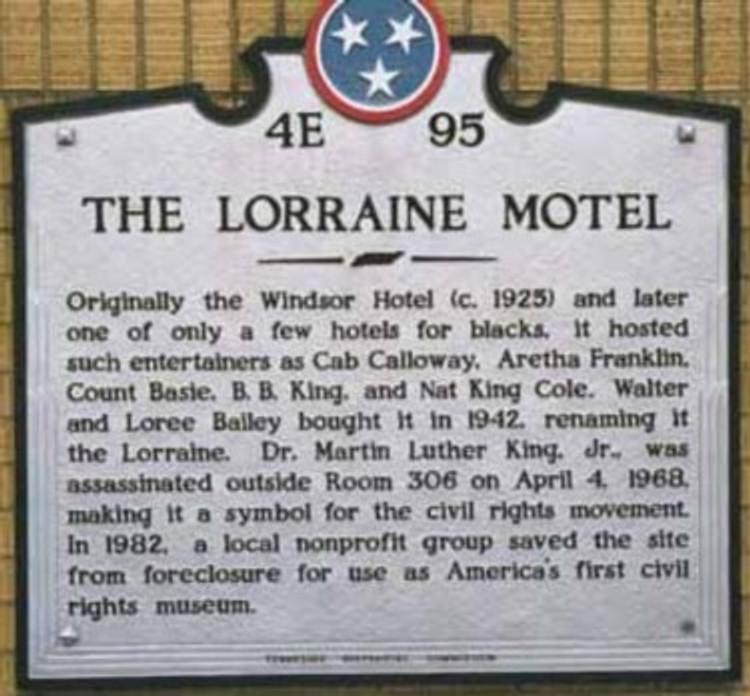 Civil Rights Museum - Lorraine Motel