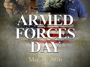 Celebrating Armed Forces Day 2016