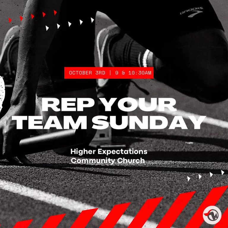 Rep Your Team Sunday