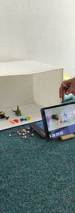Plošková animace s iPady