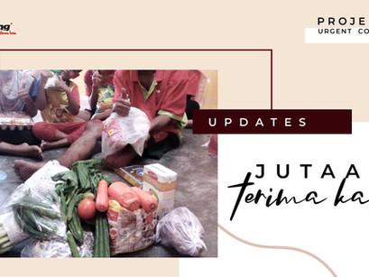 "Projek Sinar Updates - ""Jutaan Terima Kasih Kami Ucapkan"""