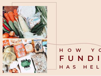 Projek Sinar Updates - How Your Funding Has Helped