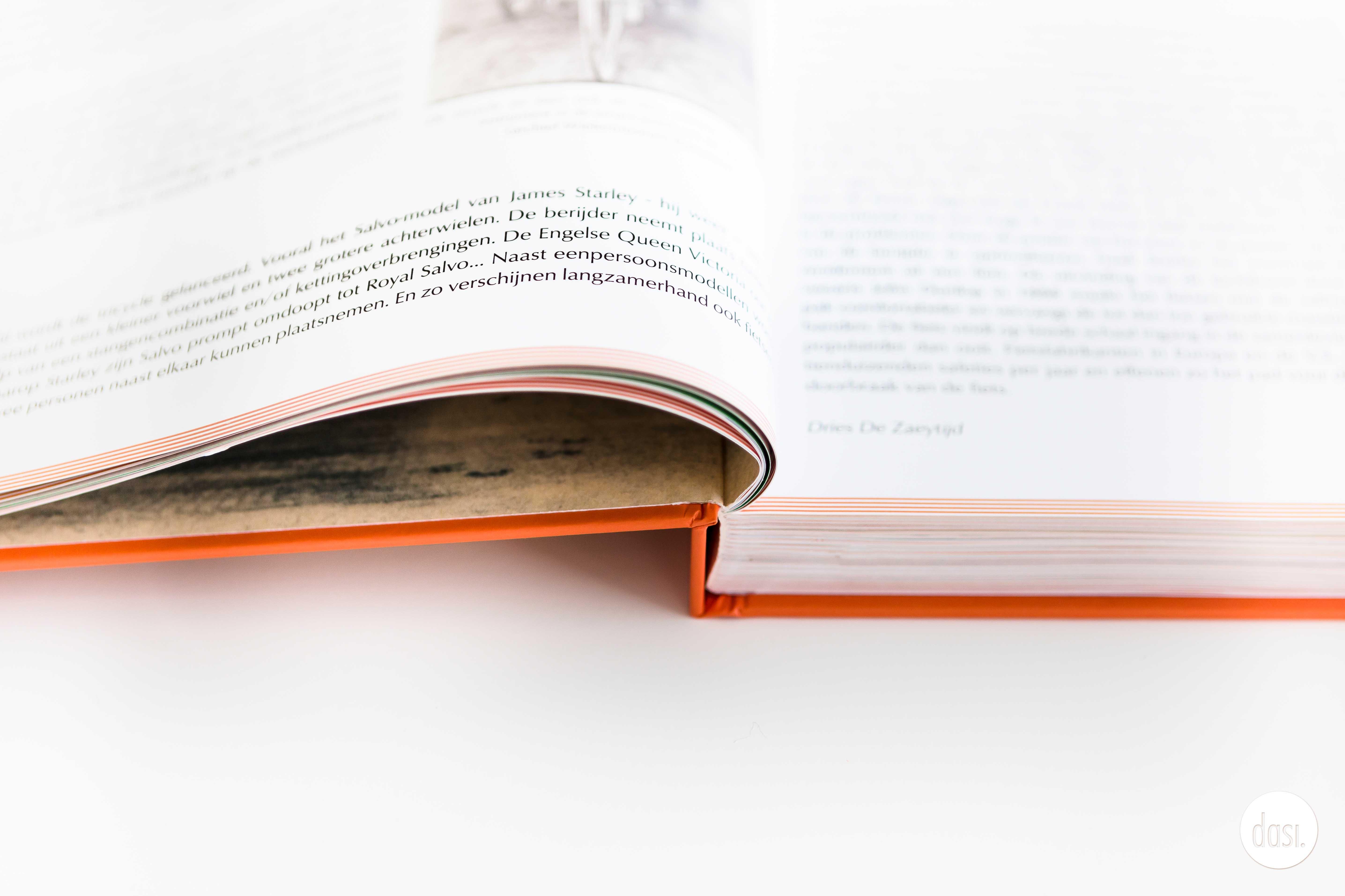 Layout boek Op Velo Bristol