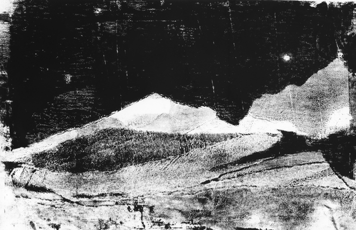 Monotype - Lanschap