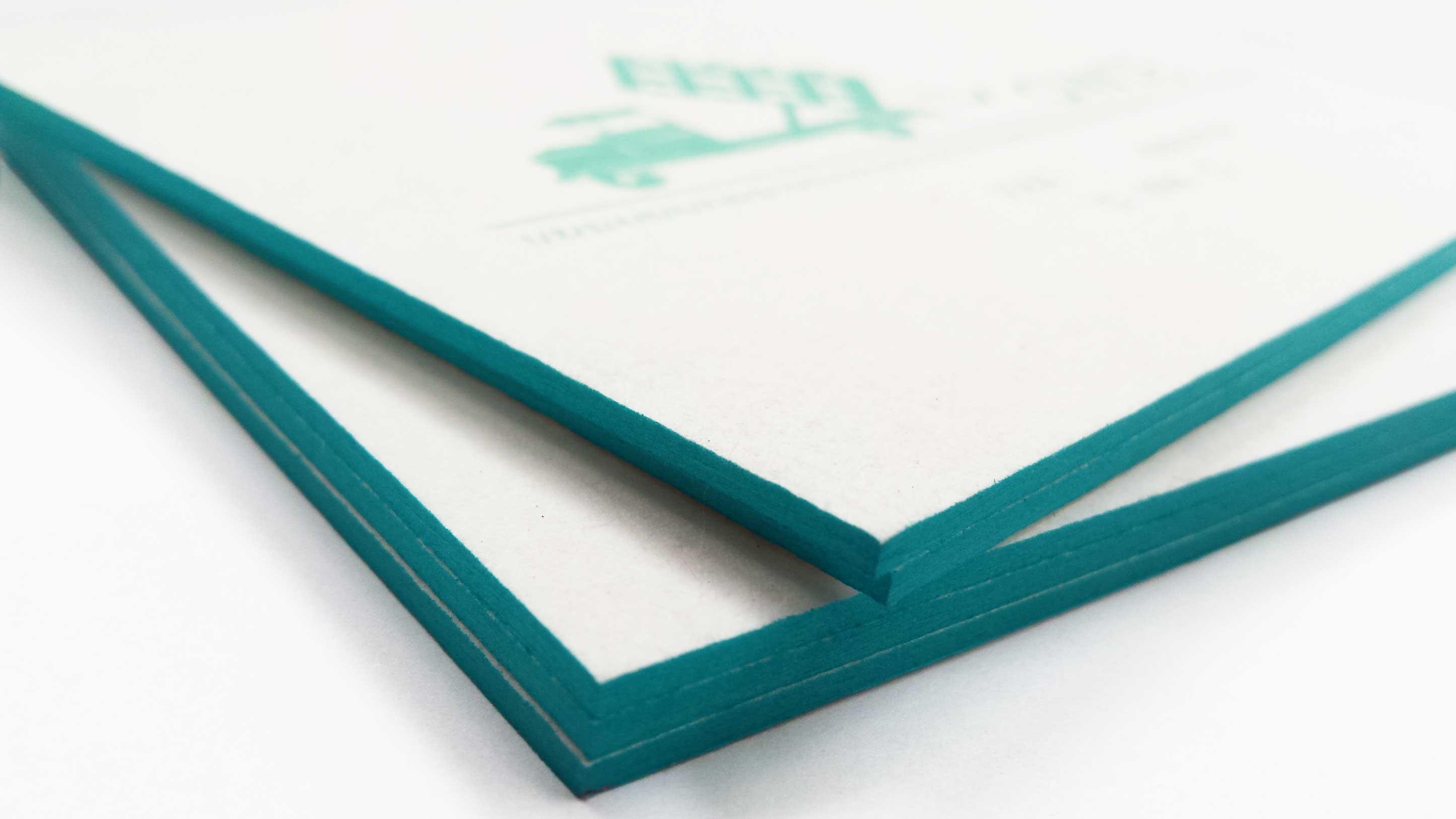 Geboortekaartje in letterpress-Lowie