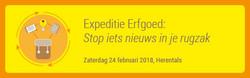 Ontwerp banner Expeditie Erfgoed