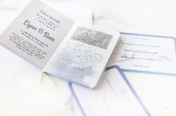 Paspoort als huwelijksuitnodiging