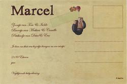 Geboortekaart Marcel