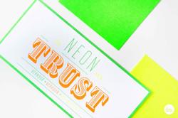 Promokaarten Neon Vastgoed