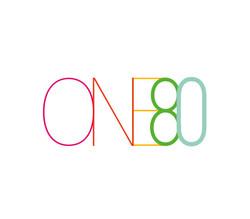 Logo ontwerp One80