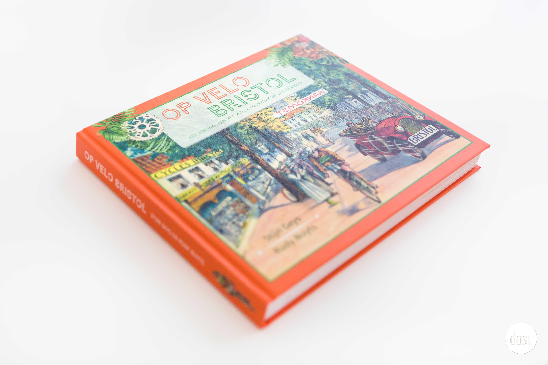 Ontwerp boekcover Op Velo Bristol