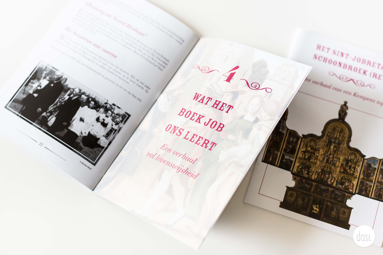 Ontwerp brochure Sint-Jobretabel