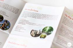 Ontwerp brochure Kinderwandelingen