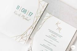 Huwelijksdrukwerk in letterpress