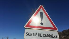 ! ATTENTION, SORTIE DE CARRIÈRE !