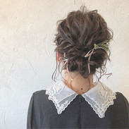・_guest  hair.✨ 結婚式💒アレンジおまかせでさせていただきました