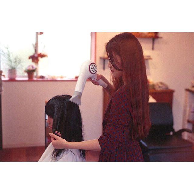 たくさん撮ってくれて嬉しい^ ^__#連投失礼します#Noelle#美容室#徳島美容室#徳島#tokushima#hair#cut