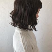 ・_guest  hair._✨✨ ・_・_暗めのカーキアッシュにイメチェン😍