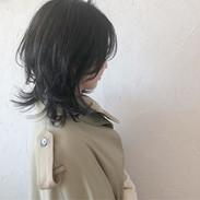 ・_guest  hair. ・_・_ブルーブラックでオシャレな黒に✨✨_・_し