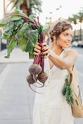 Ivy with Organic Beets