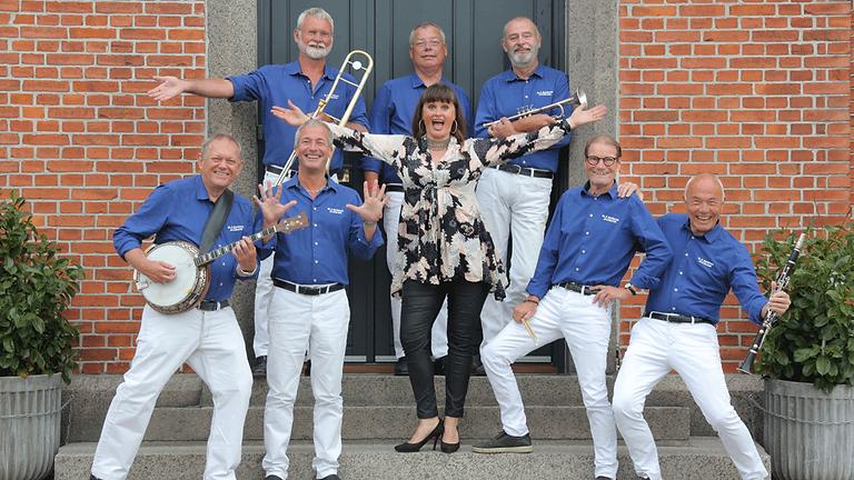 Sommerjazz 2022 med Blå Mandag Jazz Band