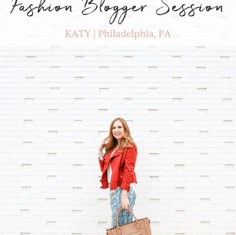 Fashion Blogger Session | Fairmount Area | Philadelphia, PA