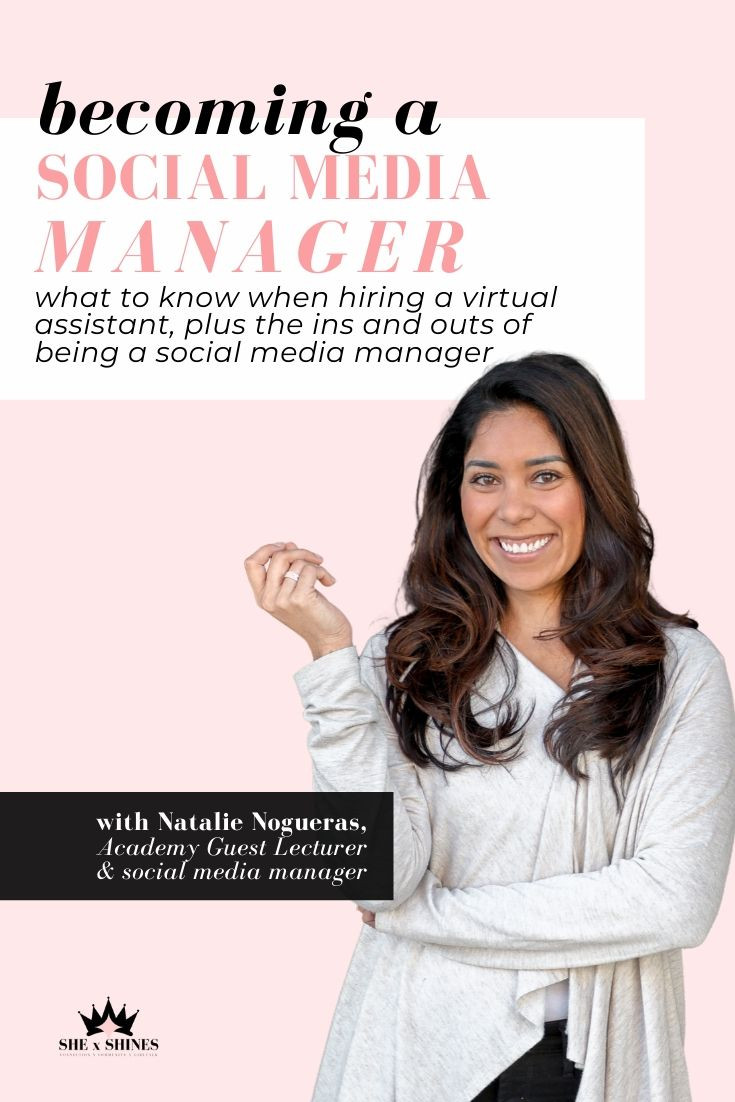 This resource also serves as a business guide for future VAs and social media managers to learn how to successfully manage your clients/accounts. Whether you are someone seeking how to get organized with social media, or you're an aspiring social media manager, you will learn how to